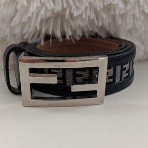Accessories - ZUCCA LOGO Authentic Fendi waistbelt - Woman
